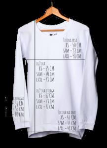 majica dugi rukav dimenzije