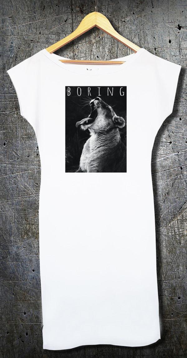 Boring duga haljina
