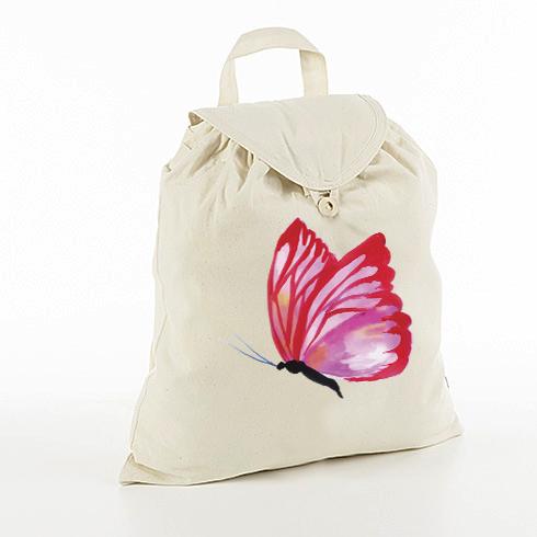 Crveni leptir ruksak