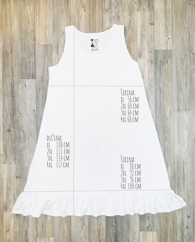 Dimenzije haljina volan veliki model xl