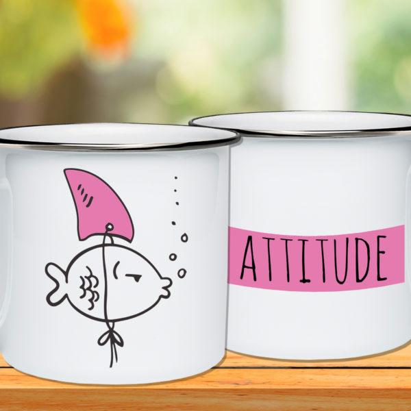 Attitude Metalni lončić